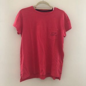 NWT Vineyard Vines Red Whale Shirt SS Small A71